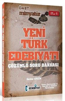 Edebiyat TV Yayınları 2020 ÖABT Yeni Türk Edebiyatı MİNYATÜR Soru Bankası Çözümlü