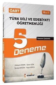 Edebiyat TV Yayınları 2020 ÖABT Türk Dili Edebiyatı 5 Deneme Çözümlü