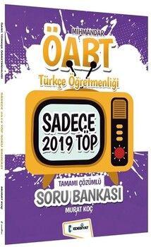 Edebiyat TV2021 ÖABT Türkçe Öğretmenliği MİHMANDAR Sadece 2019 TÖP Soru Bankası