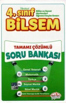 Editör 4. Sınıf Bilsem Tamamı Çözümlü Soru Bankası