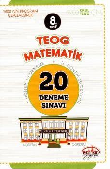 Editör 8. Sınıf TEOG Matematik 20 Deneme