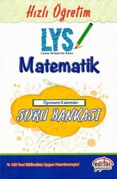 Editör LYS Matematik Öğretmenin Kaleminden Soru Bankası