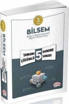 Editör Yayınları 3. Sınıf Bilsem Tamamı Çözümlü 5 Deneme Sınavı
