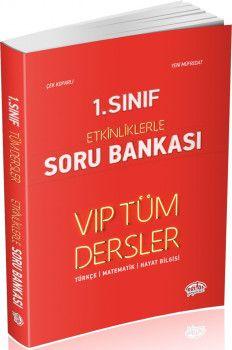 Editör Yayınları 1. Sınıf Tüm Dersler VIP Etkinliklerle Soru Bankası
