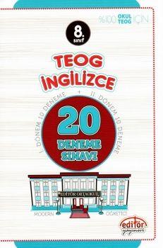 Editör Yayınları 8. Sınıf TEOG İngilizce 20 Deneme Sınavı