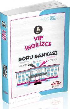Editör Yayınları 8. Sınıf Vip İngilizce Soru Bankası