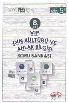Editör Yayınları 8. Sınıf VİP Din Kültürü ve Ahlak Bilgisi Soru Bankası