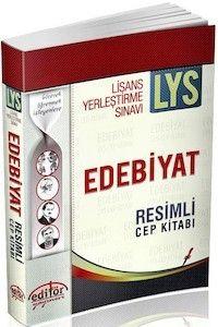 Editör Yayınları LYS Edebiyat Resimli Cep Kitabı