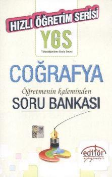 Editör Yayınları YGS Coğrafya Hızlı Öğretim Serisi Soru Bankası