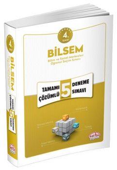 Editör Yayınları 4. Sınıf BİLSEM Tamamı Çözümlü 5 Deneme Sınavı