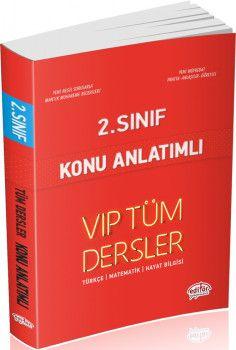 Editör Yayınları 2. Sınıf Tüm Dersler VIP Konu Anlatımlı Kırmızı Kitap