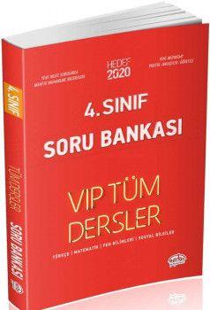 Editör Yayınları 4. Sınıf Tüm Dersler VIP Soru Bankası Kırmızı Kitap