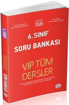 Editör Yayınları 6. Sınıf Tüm Dersler VIP Soru Bankası Kırmızı Kitap