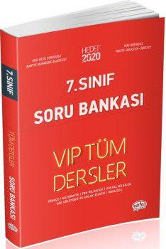 Editör Yayınları 7. Sınıf Tüm Dersler VIP Soru Bankası Kırmızı Kitap