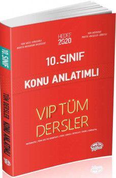 Editör Yayınları 10. Sınıf Tüm Dersler VIP Konu Anlatımlı Kırmızı Kitap