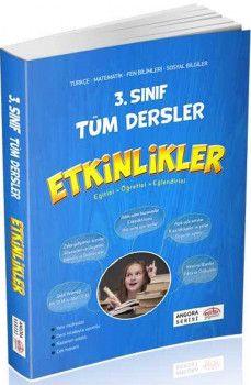 Editör Yayınları 3. Sınıf Tüm Dersler Etkinlikler Angora Serisi