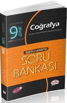Editör Yayınları 9. Sınıf Coğrafya Özetli Lezzetli Soru Bankası