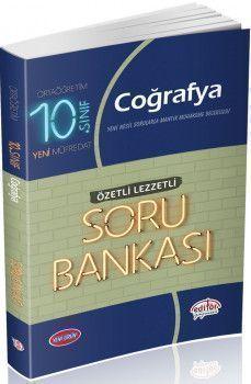 Editör Yayınları 10. Sınıf Coğrafya Özetli Lezzetli Soru Bankası