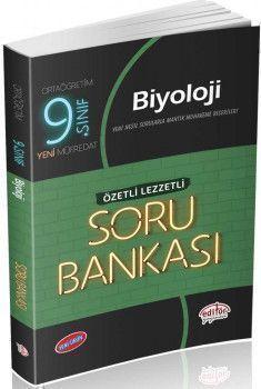 Editör Yayınları 9. Sınıf Biyoloji Özetli Lezzetli Soru Bankası
