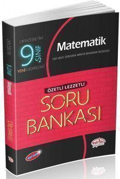 Editör Yayınları 9. Sınıf Matematik Özetli Lezzetli Soru Bankası