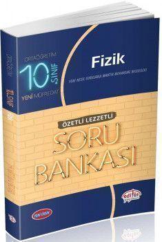 Editör Yayınları 10. Sınıf Fizik Özetli Lezzetli Soru Bankası