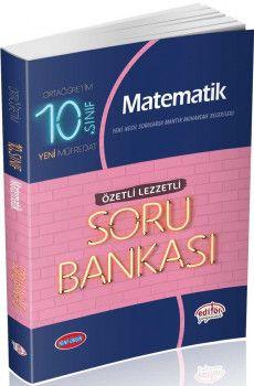 Editör Yayınları 10. Sınıf Matematik Özetli Lezzetli Soru Bankası