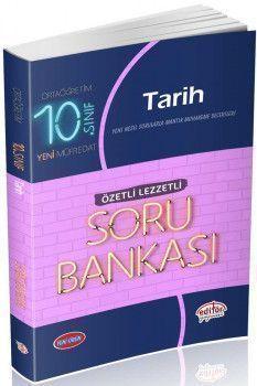 Editör Yayınları 10. Sınıf Tarih Özetli Lezzetli Soru Bankası