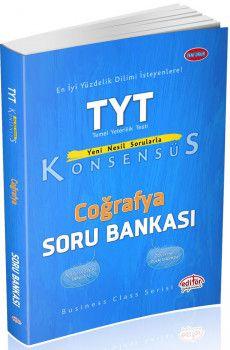 Editör Yayınları TYT Coğrafya Konsensüs Soru Bankası