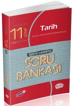 Editör Yayınları 11. Sınıf Tarih Özetli Lezzetli Soru Bankası