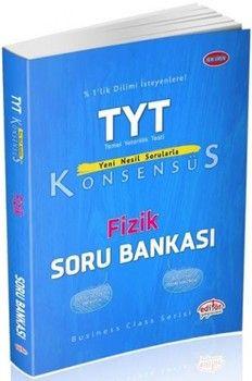 Editör Yayınları TYT Fizik Konsensüs Soru Bankası