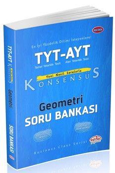 Editör Yayınları TYT AYT Geometri Konsensüs Soru Bankası