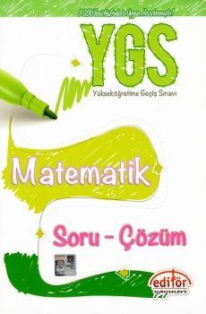 Editör Yayınları YGS Matematik Soru Çözüm