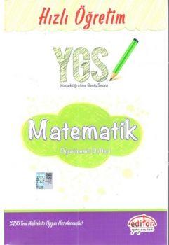 Editör Yayınları YGS Matematik Hızlı Öğretim