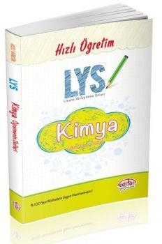 Editör Yayınları LYS Kimya Öğretmenin Defteri Konu Anlatımı
