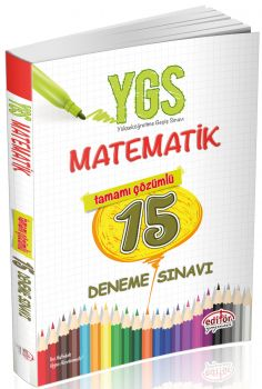 Editör Yayınları YGS Matematik 15 Deneme Sınavı