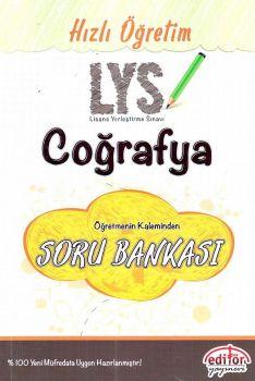 Editör Yayınları LYS Hızlı Öğretim Coğrafya Soru Bankası