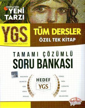 Editör Yayınları YGS Tüm Dersler Tamamı Çözümlü Soru Bankası