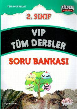 Editör Yayınları 2. Sınıf VIP Tüm Dersler Soru Bankası