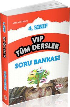 Editör Yayınları 4. Sınıf VIP Tüm Dersler Soru Bankası