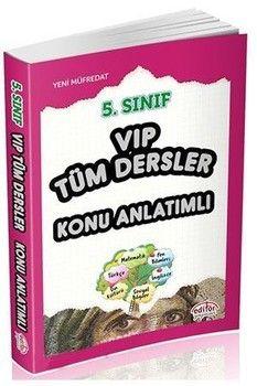 Editör Yayınları 5. Sınıf VIP Tüm Dersler Konu Anlatımlı
