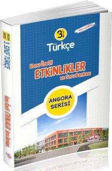 Editör Yayınları 3. Sınıf Angora Serisi Türkçe Konu Özetli Etkinlikler ve Soru Bankası