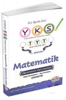 Editör Yayınları YKS 1. Oturum TYT Matematik Öğretmenin Ders Notları