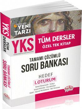 Editör Yayınları YKS 1. Oturum TYT Tüm Dersler Tamamı Çözümlü Soru Bankası