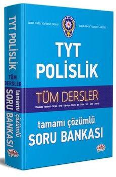 Editör Yayınları TYT Polislik Hazırlık Tüm Dersler Çözümlü Soru Bankası