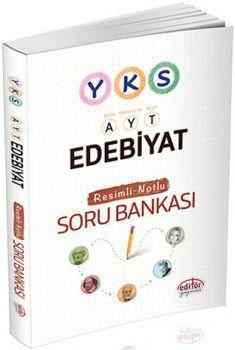 Editör Yayınları YKS 2. Oturum AYT Edebiyat Resimli Notlu Soru Bankası