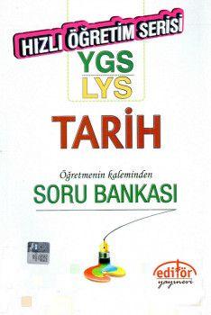 Editör Yayınları YGS LYS Tarih Öğretmenin Kaleminden Soru Bankası