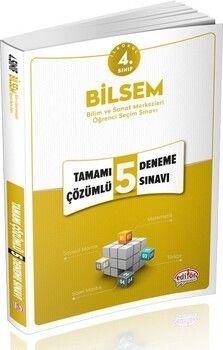 Editör Yayınları 4. Sınıf Bilsem Çözümlü 5 Deneme Sınavı