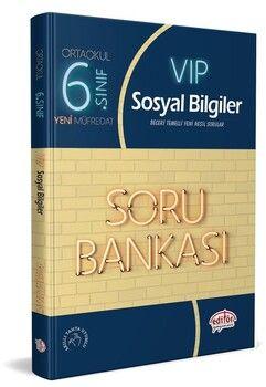 Editör Yayınları 6. Sınıf Sosyal Bilgiler Vip Soru Bankası