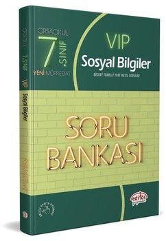Editör Yayınları 7. Sınıf Sosyal Bilgiler Vip Soru Bankası