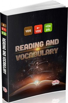 Editör Yayınları YDS  E YDS YÖKDİL Reading and Vocabulary